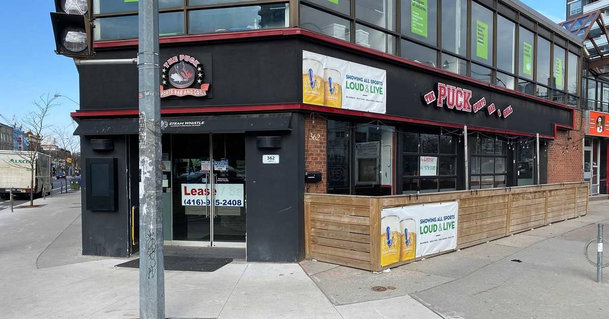 トロントのレストランは、4月の家賃を支払わないと立ち退きの恐れがある