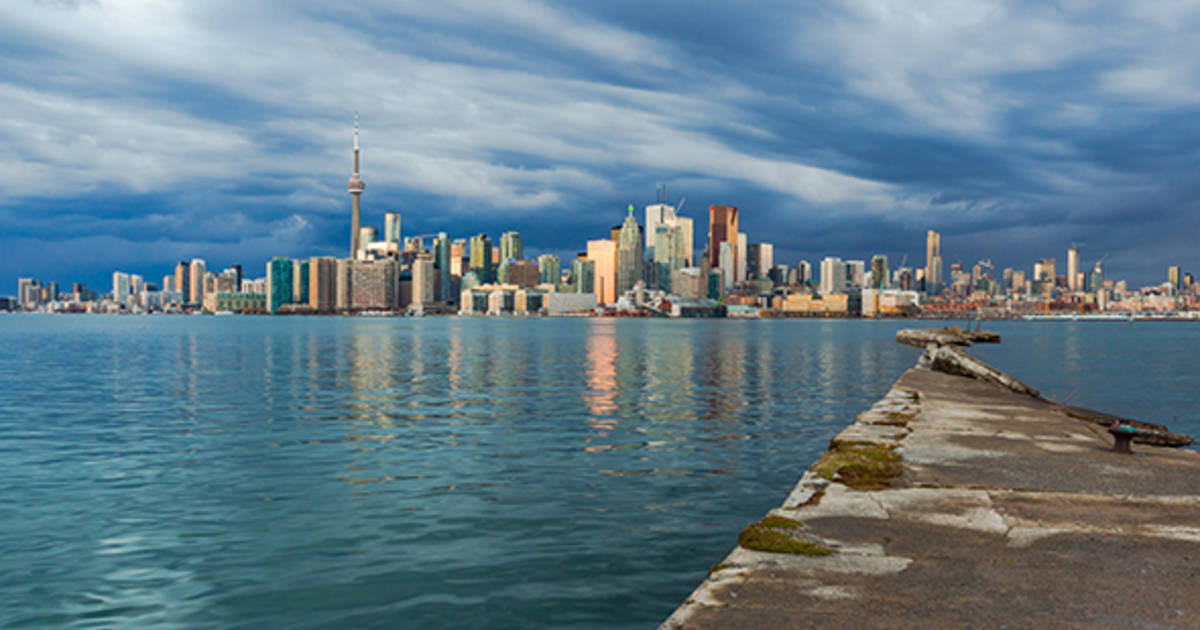 How much Toronto's skyline has changed in 10 years