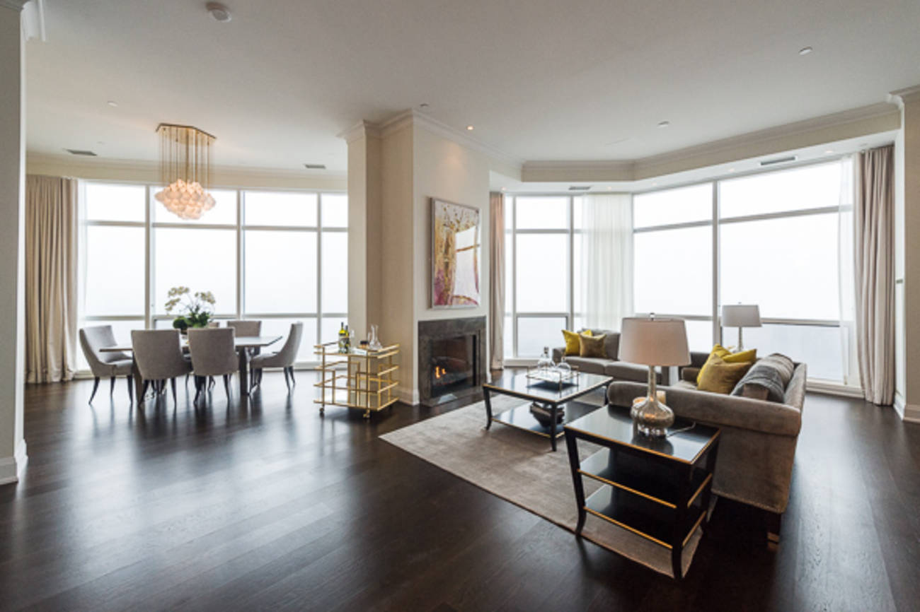 What Toronto's tallest penthouse condo looks like