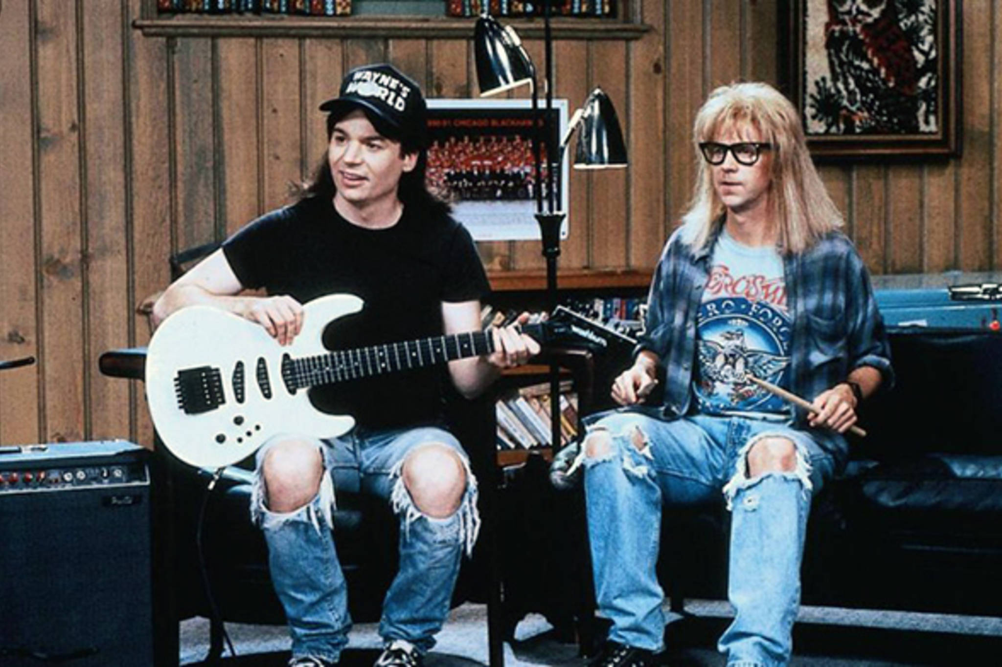 penelope spheeris waynes world and mark waters mean girls as two examples of comedy films