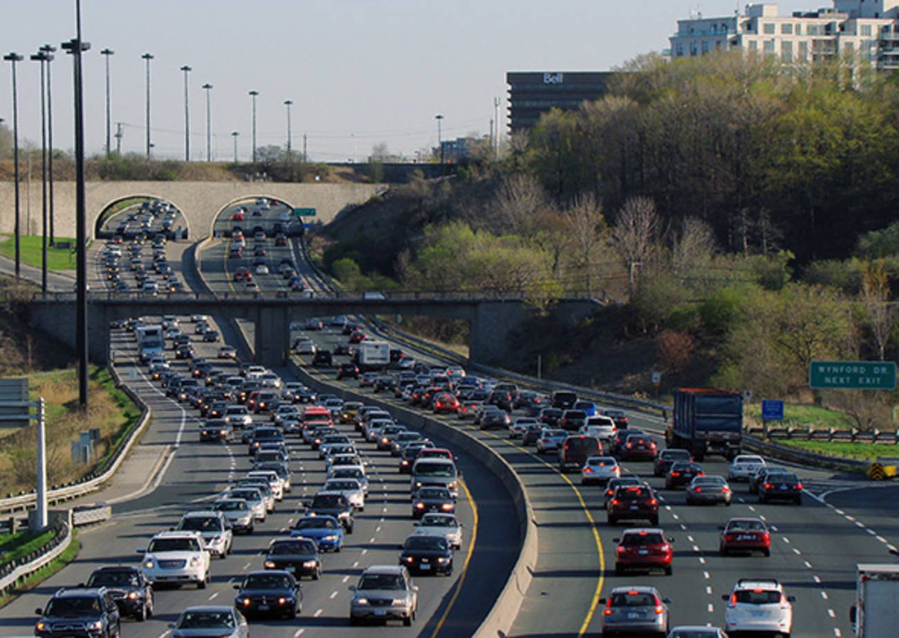 Toronto ranked the 47th worst traffic in the world