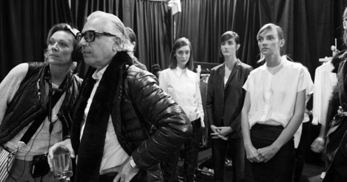 20 photos from backstage at Toronto Fashion Week
