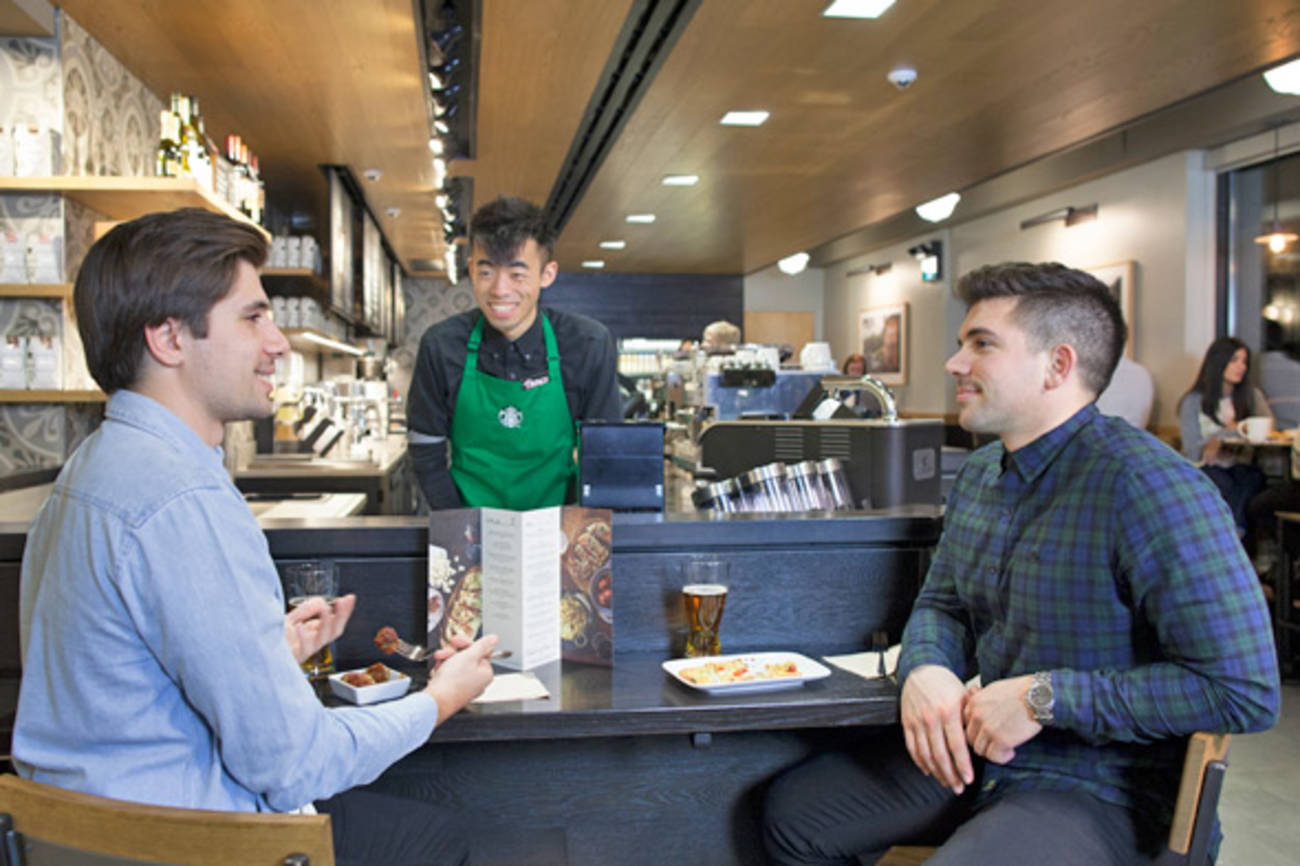 Starbucks to begin serving booze in Toronto next week