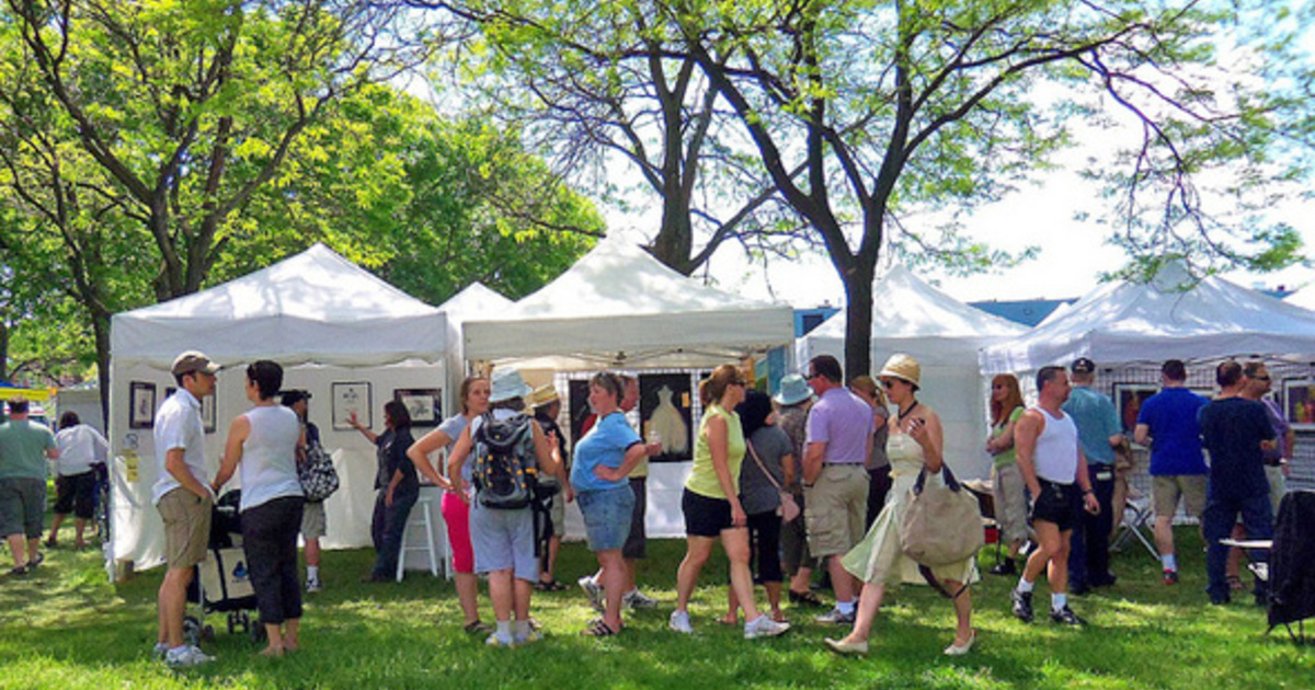 The top 6 outdoor art fairs in Toronto for spring 2016