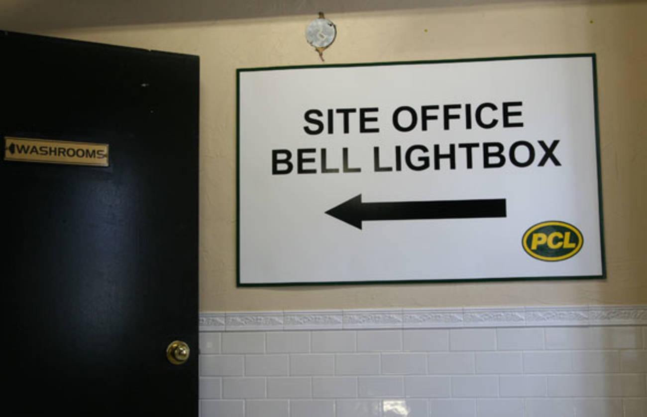 Inside Bell Lightbox