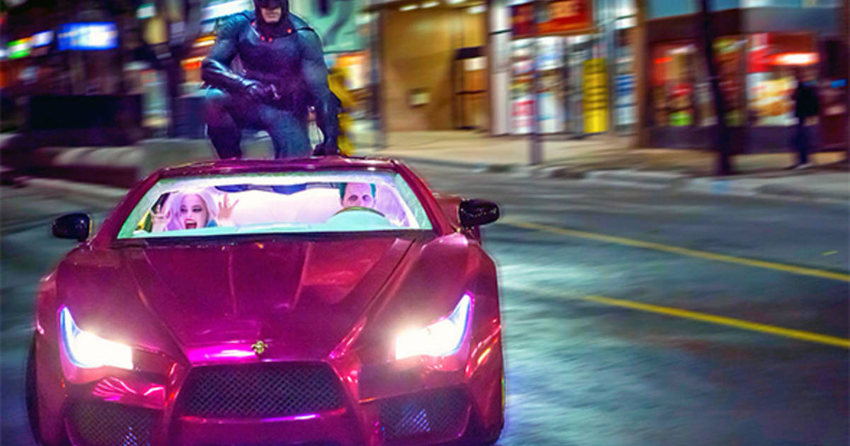 Batman finally spotted in Toronto for Suicide Squad