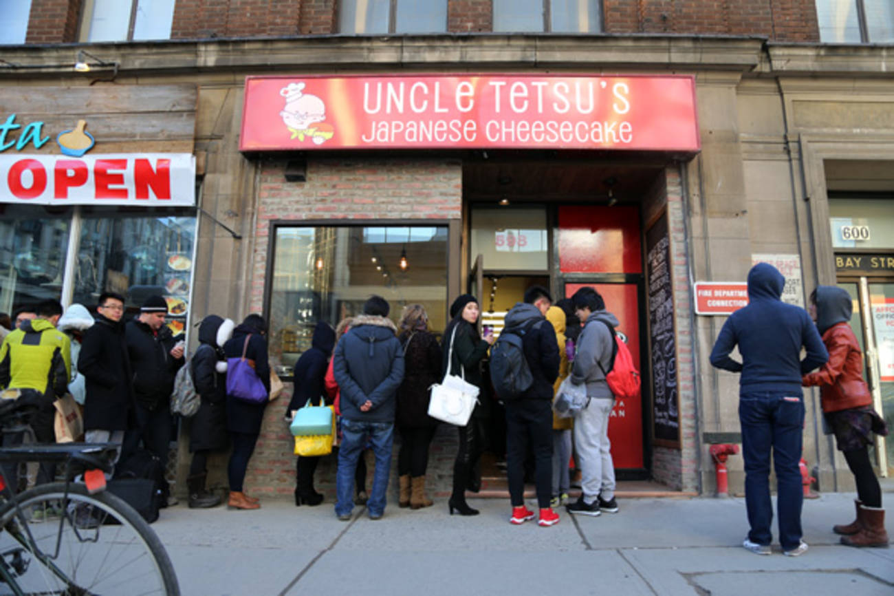 Uncle Tetsu Japanese Cheesecake opens in Toronto