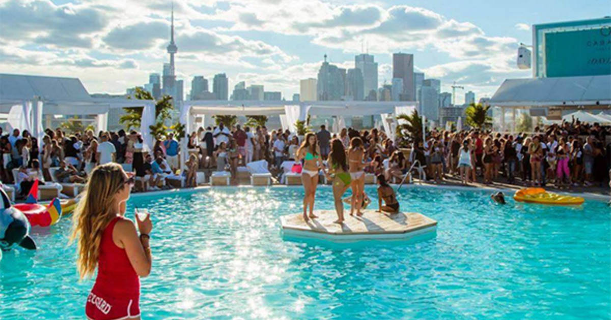The top 10 parties by the lake in Toronto this summer