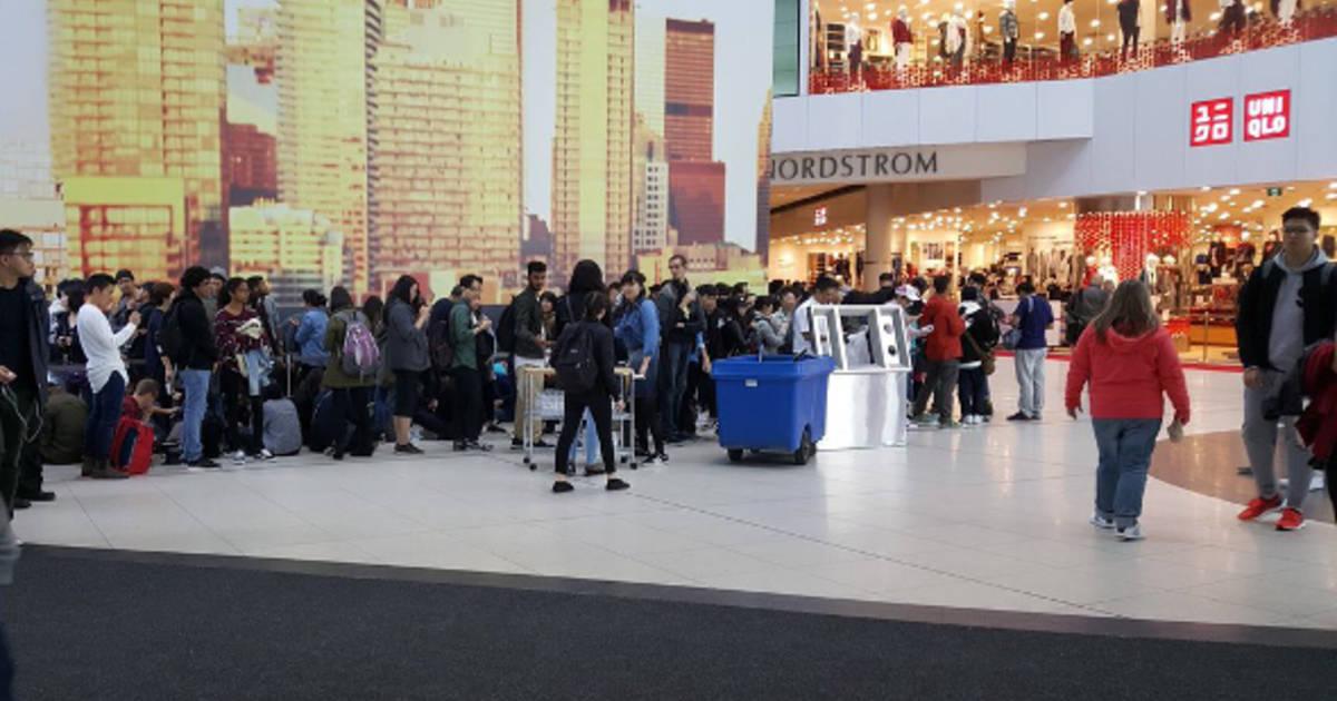 Toronto goes wild for Uniqlo opening