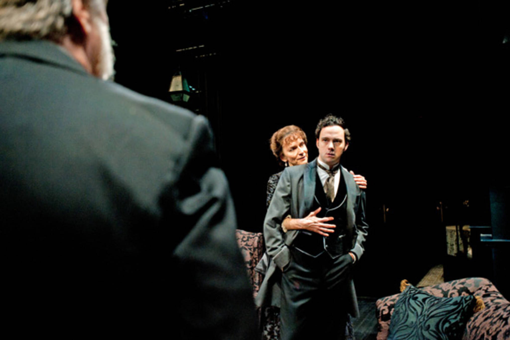 ibsens ghost Theatre review: ibsen's ghosts theatre review: ibsen's ghosts - 'a spell-binding production' 1/3 a scene from ghosts at the almeida theatre hugo glendinning 2/3.