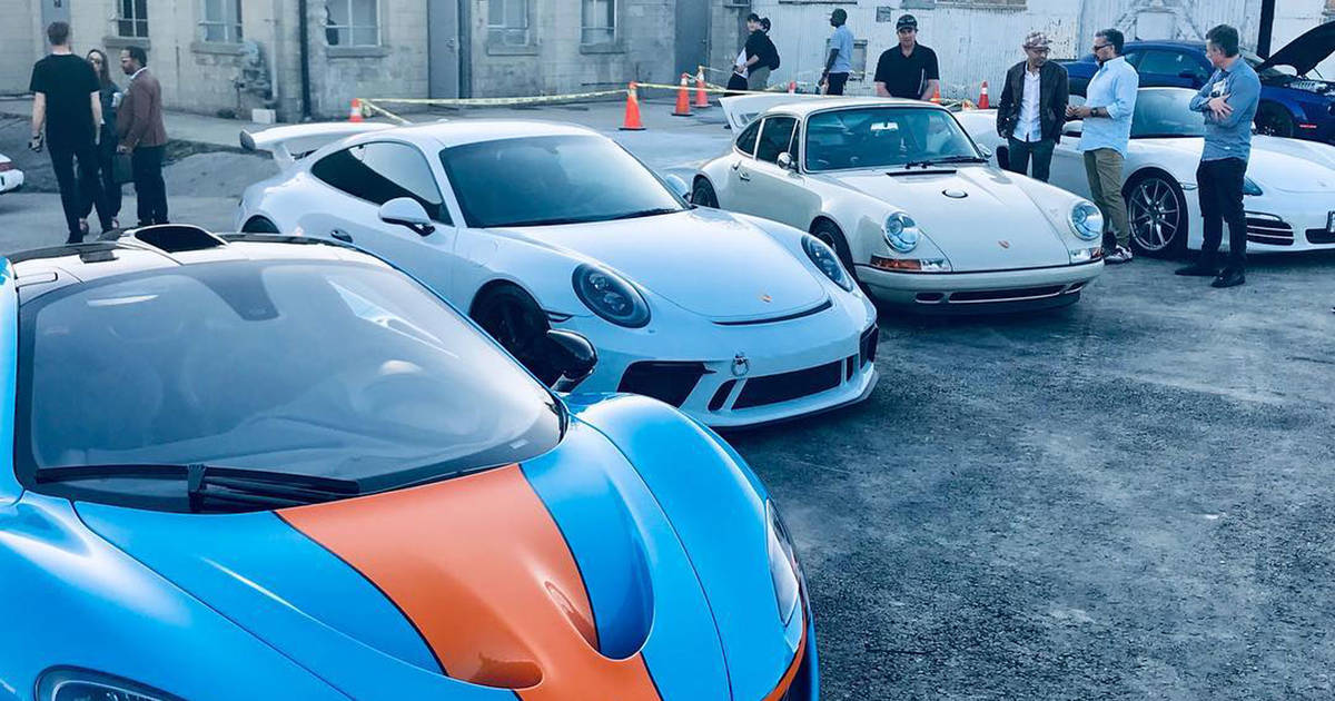 Toronto's newest club let's you drive a huge fleet of supercars