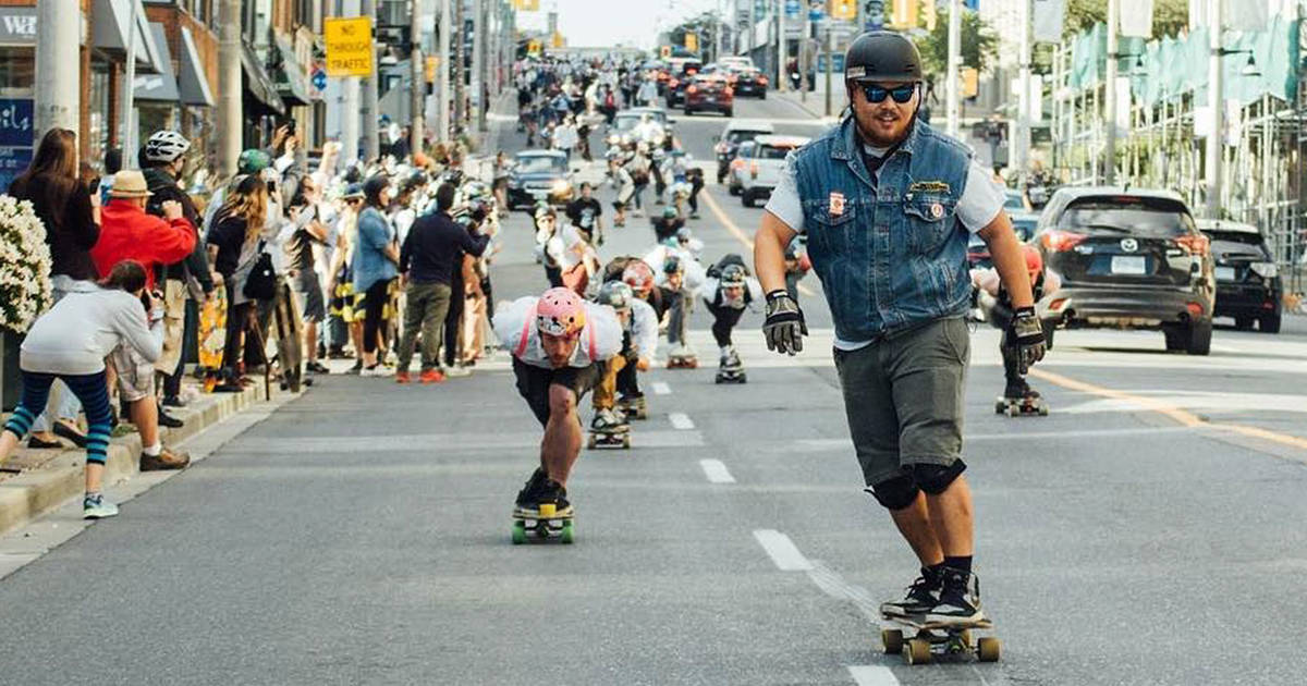 Skateboarders to take over Toronto streets this weekend