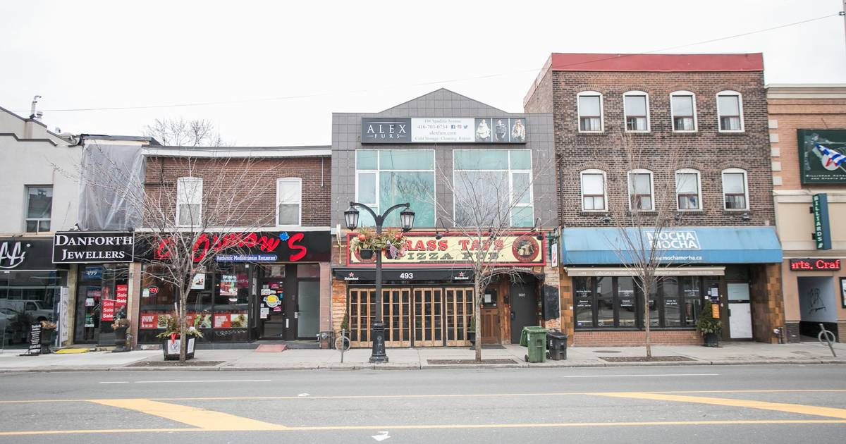 Toronto proposing pilot project to support businesses and make space on the Danforth