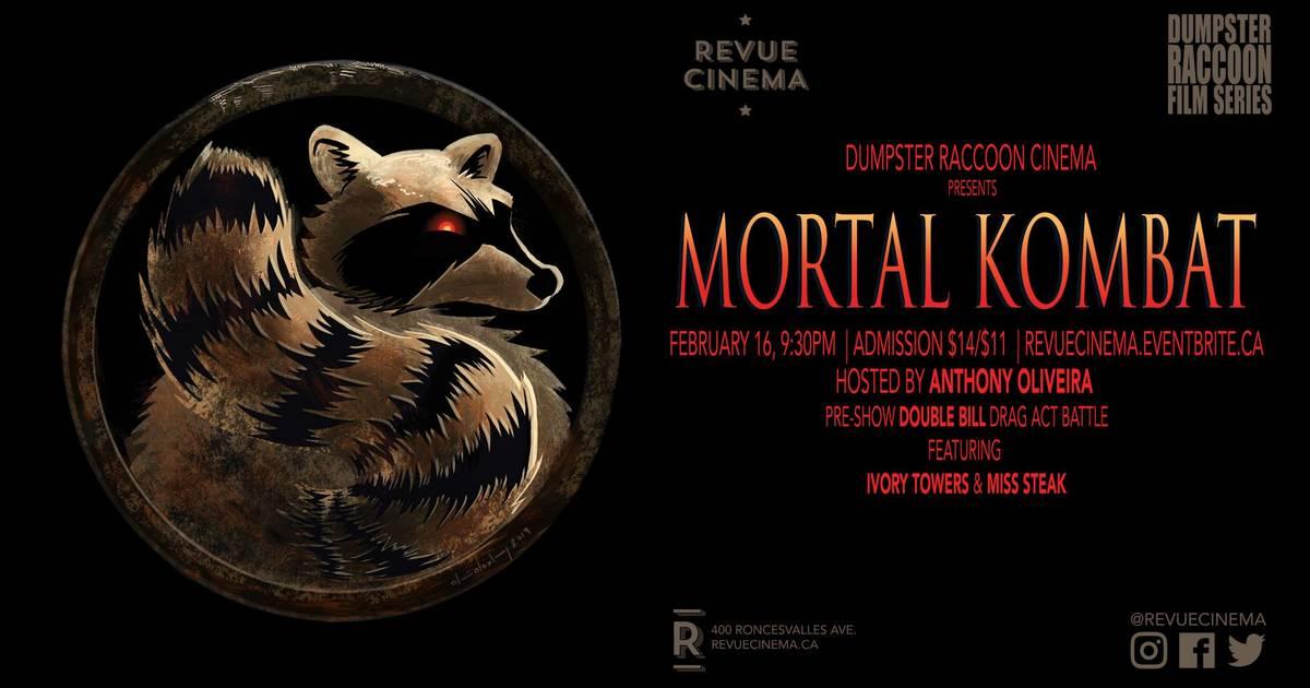 Dumpster Raccoon Film Series: Mortal Kombat
