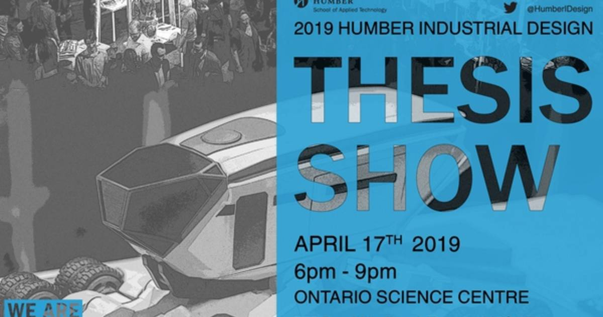 Humber College Industrial Design Thesis Show