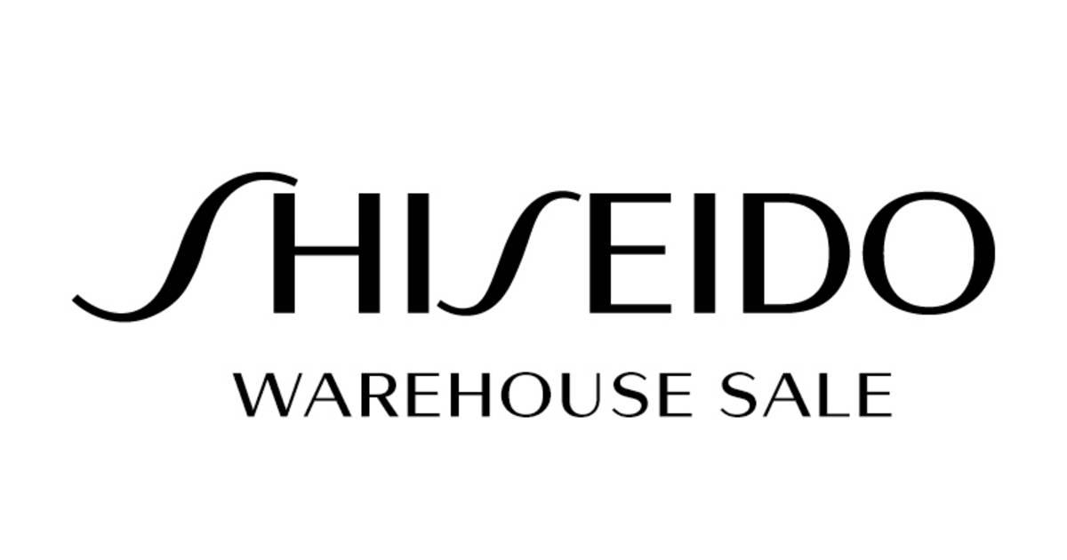 Shiseido Warehouse Sale