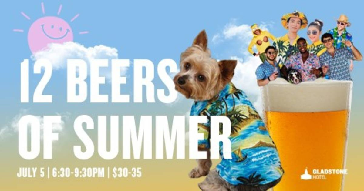 12 Beers of Summer!