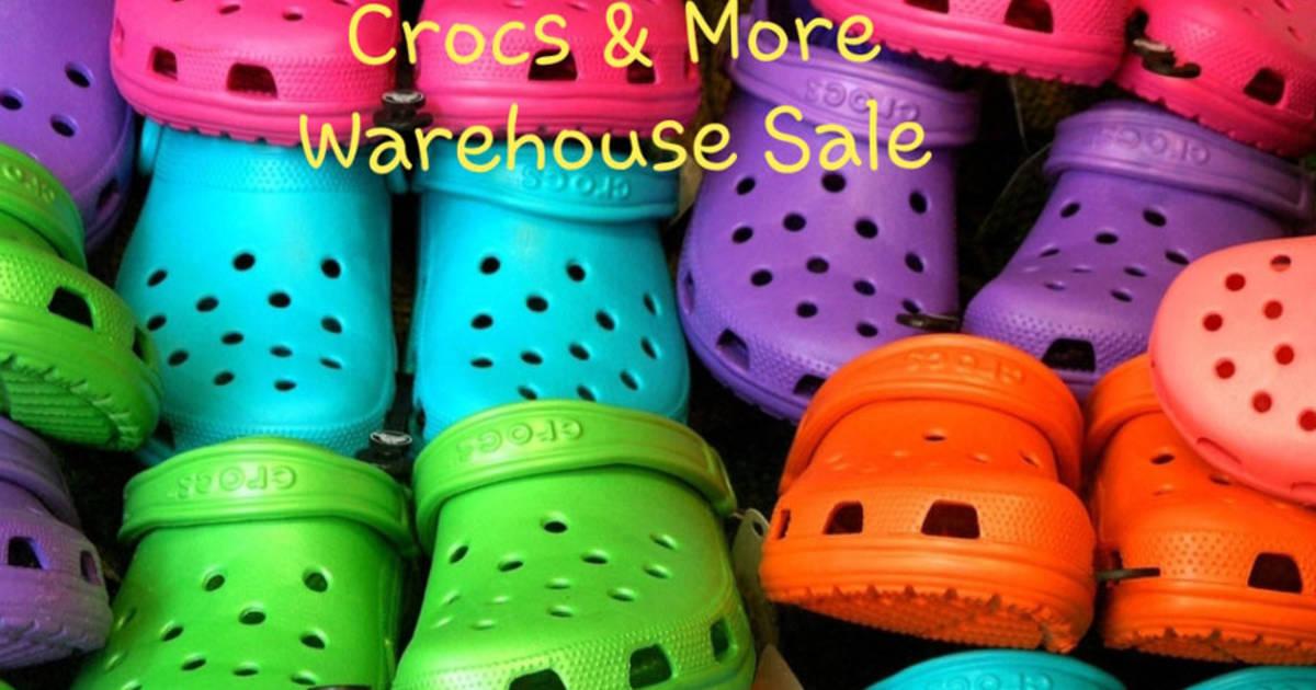 Crocs Warehouse Sale 2019