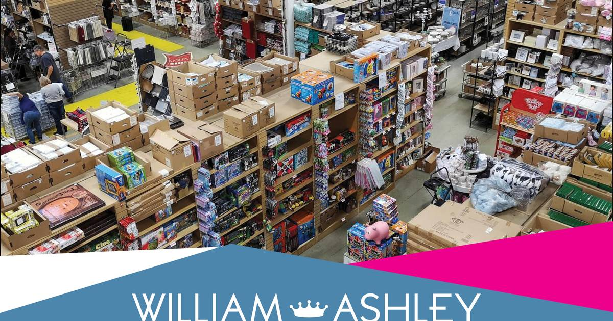 William Ashley Warehouse Sale