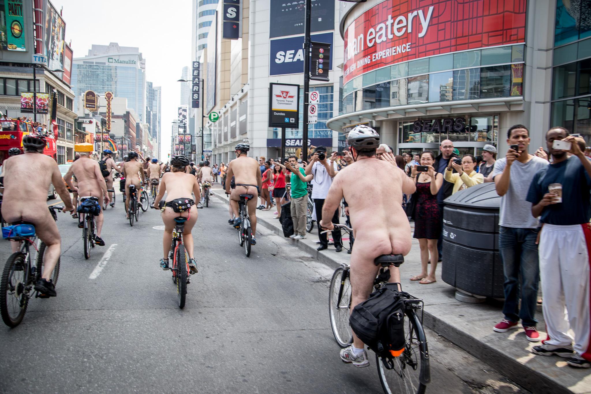 Nude bike ride toronto 5