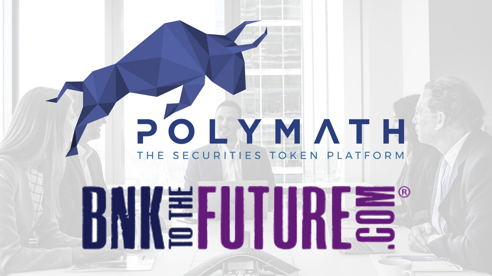 Polymath and BnkToTheFuture.com creating security token babies