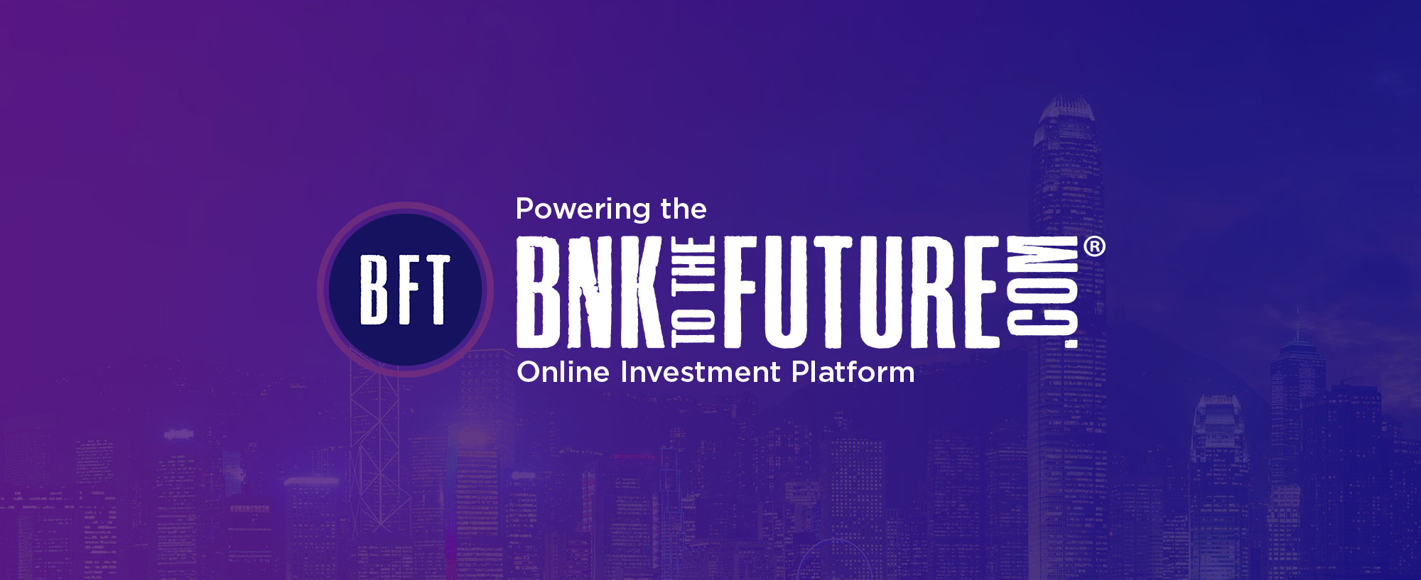 New BnkToTheFuture pitches, features and news