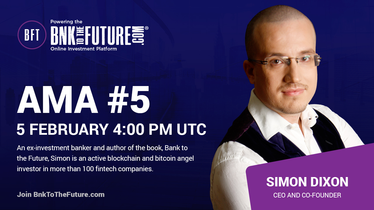 Security Token Wallet – AMA #5 with Simon Dixon – BF Wallet & Secondary Market Update