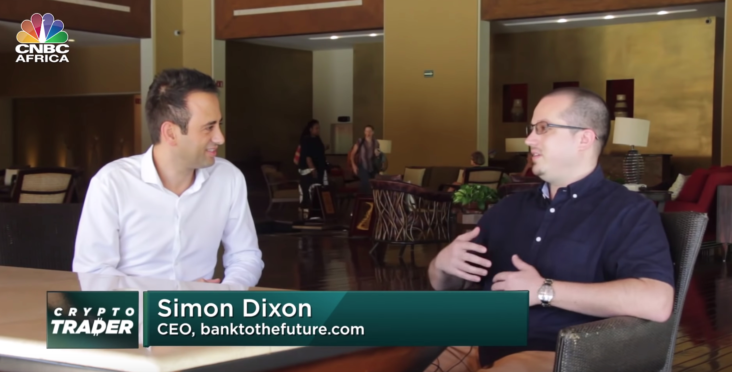 Simon Dixon CNBC Interview at Satoshi Roundtable