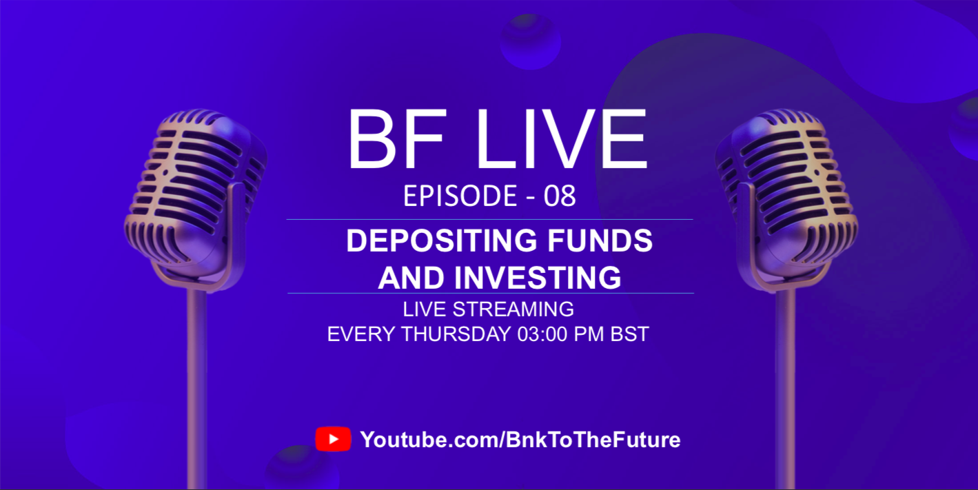 Bnk To The Future Live Ep. 08 | Should You Deposit Funds To Your BF Account?