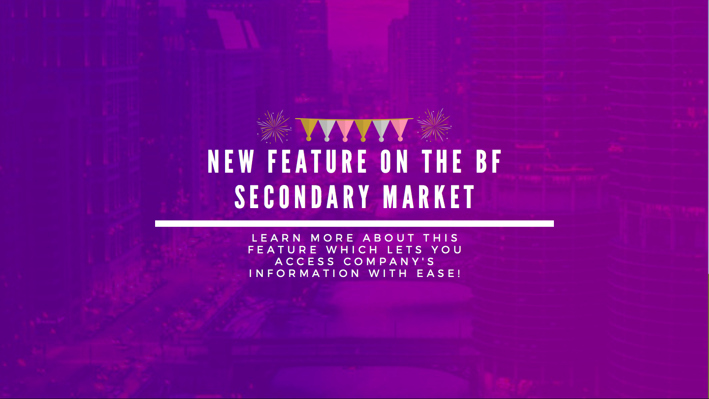 New Feature on the Bnk To The Future Secondary Market