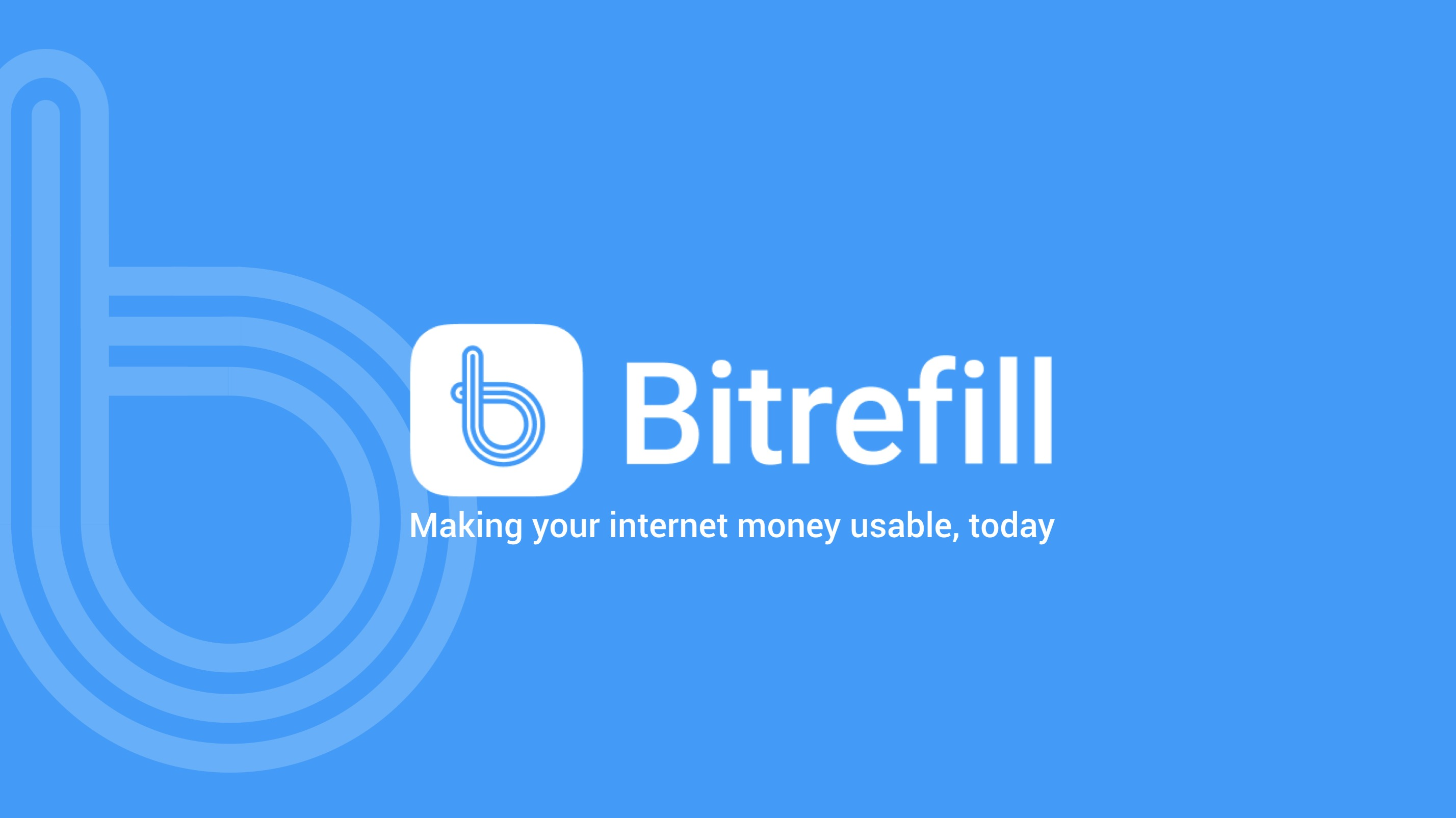 Bitrefill Live on BnkToTheFuture for Qualifying Investors