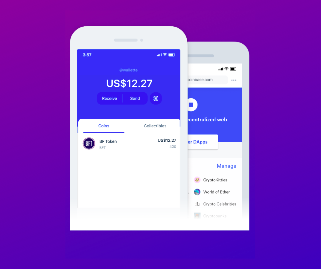 BnkToTheFuture Token (BFT) Is Now Supported on the Coinbase Wallet