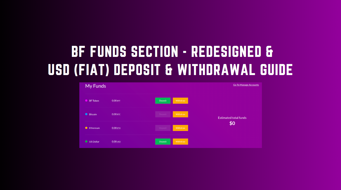 BF FUNDS (Redesigned) Overview | USD Deposit & Withdrawal Guide.