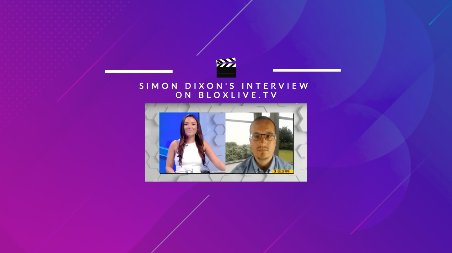 Simon Dixon talks Security Tokens, BF Secondary Market, Crypto Companies & more on Bloxlive.TV