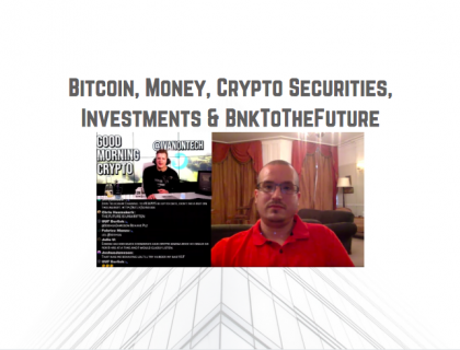 IvanOnTech Interviews Simon Dixon | Talks Bitcoin, Money, Crypto Securities, Investments & BnkToTheFuture