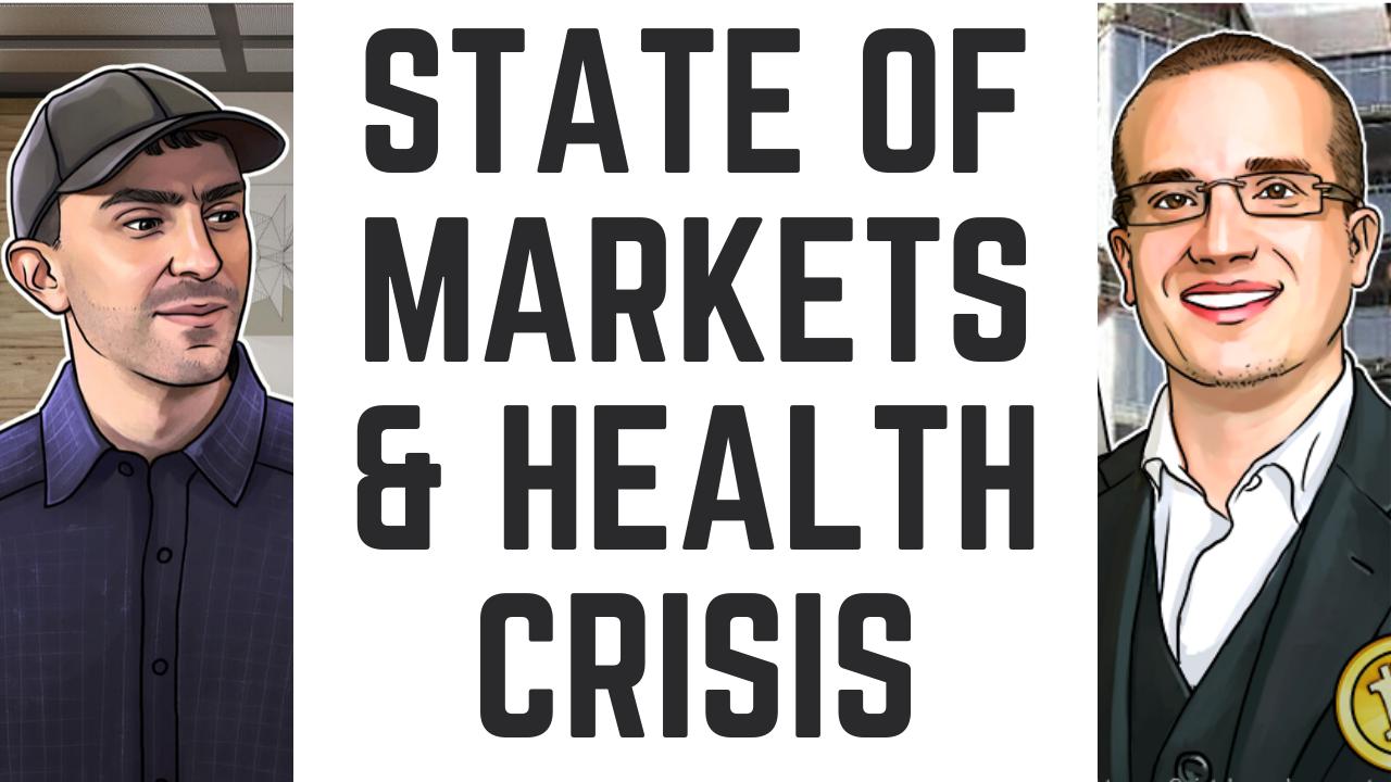 BnkToTheFuture CEO, Simon Dixon on State of Markets with Tone Vays | Bitcoin, Stocks, Gold, Health Crisis