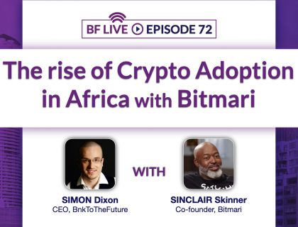 The rise of crypto adoption in Africa with Billmari (Bitmari) | BnkToTheFuture (BF) Live Ep 72