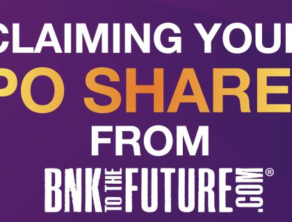 Claiming your IPO Shares from BnkToTheFuture