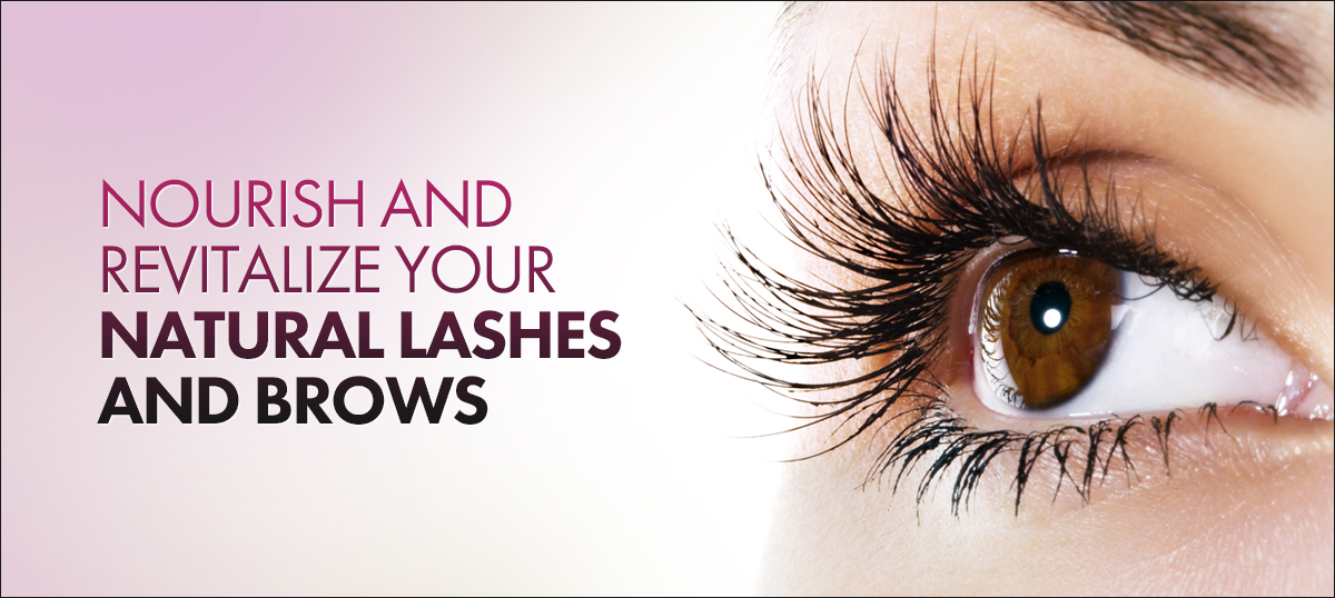 Nourish and revitalize your natural lashes and brows.
