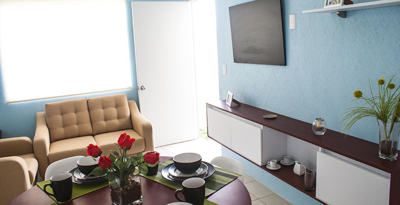Fachada de bonito departamento Palma 1N En Veracruz