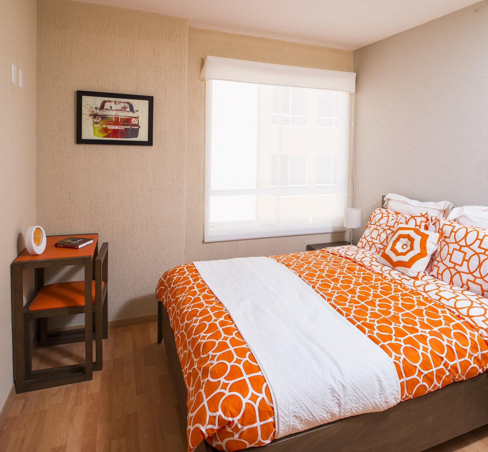 Confortable habitación en Casa modelo Ceiba 2R de Sadasi San Pablo en técamac