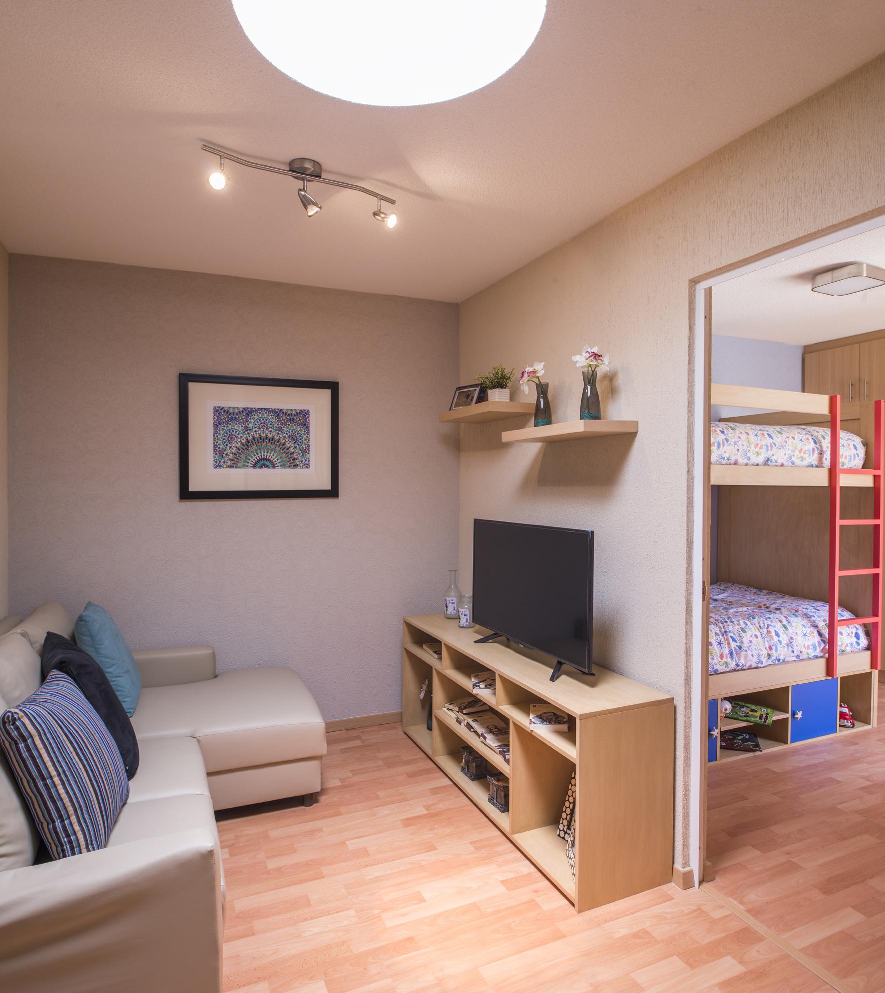 bonito cuarto de TV de casa modelo cupido 3r