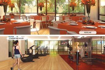 Salón de eventos multiples y exclusivo Gym de departamentos en Cima DF-San Isidro en Azcapotzalco