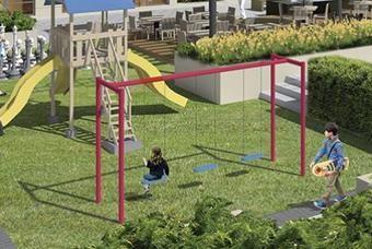 Amplias Áreas de juegos en departamentos Cima DF-San Isidro