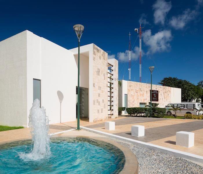 Plano de planta baja modelo recinto premium en Balli Cancún