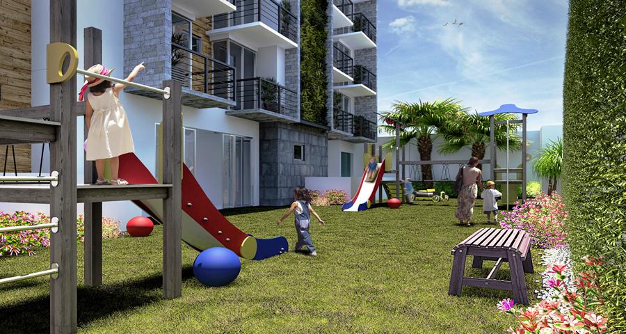 Área de juegos de departamento en la delegación gustavo A Madero en  Urbania Sara Residencial