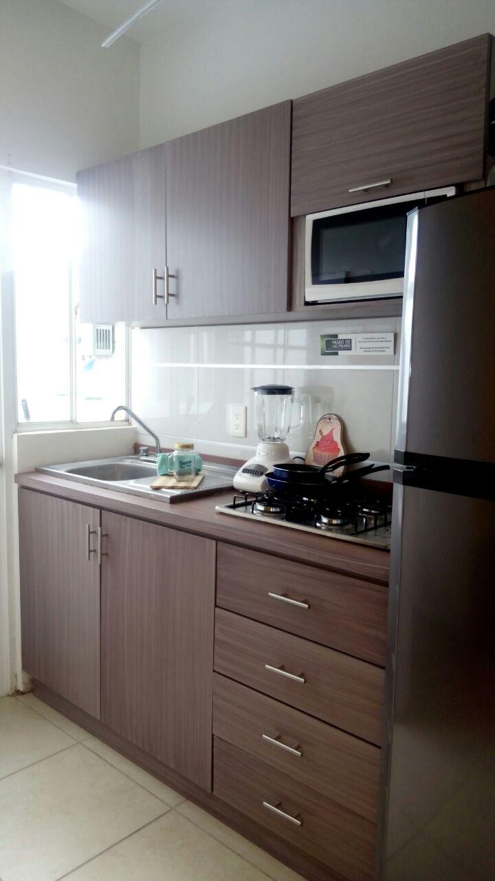 Cocina integral de casa modelo Asahi de Ruba Veracruz