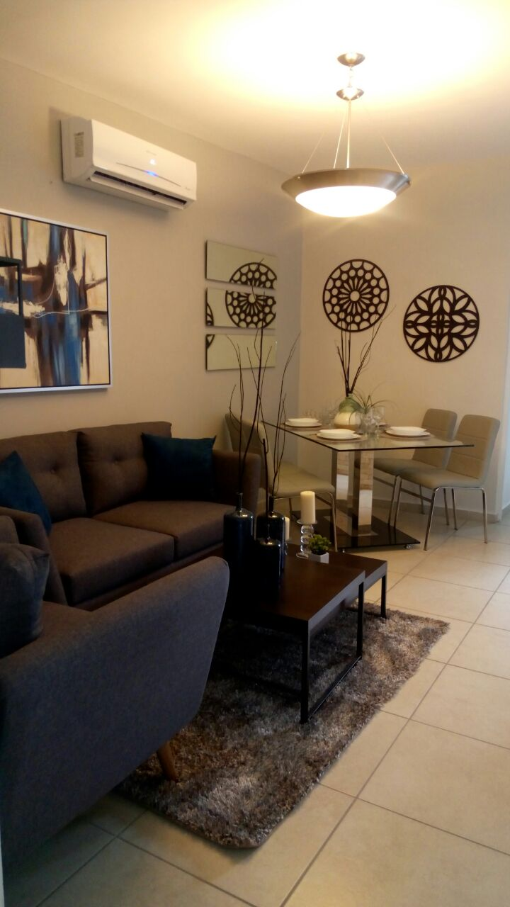 Bonita Sala de casa modelo Asahi de Ruba Veracruz