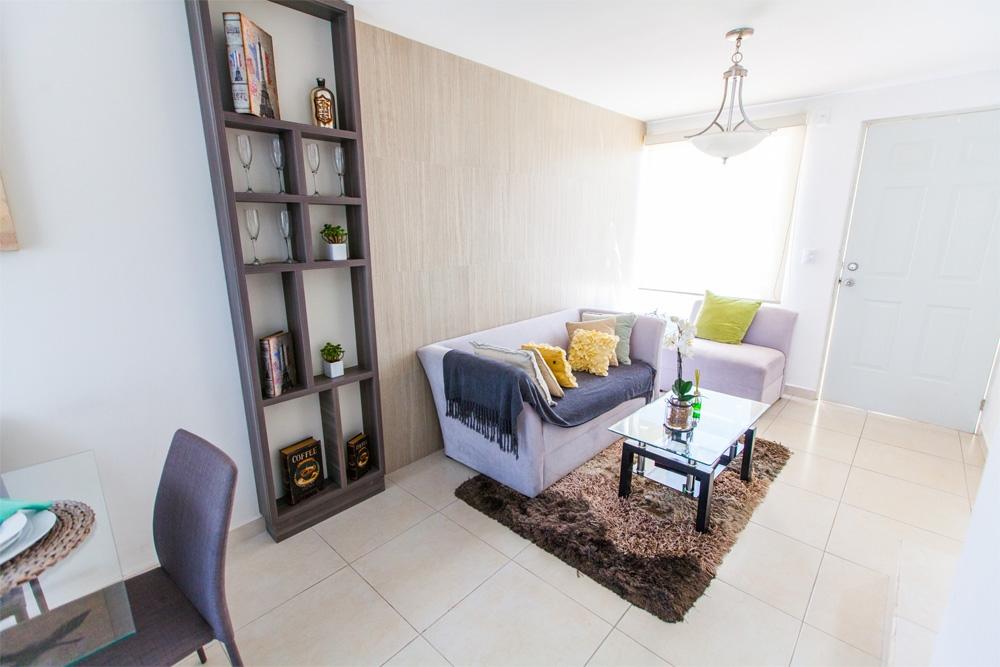 Espaciosa sala en casa modelo Javer B en Residenza Privadas