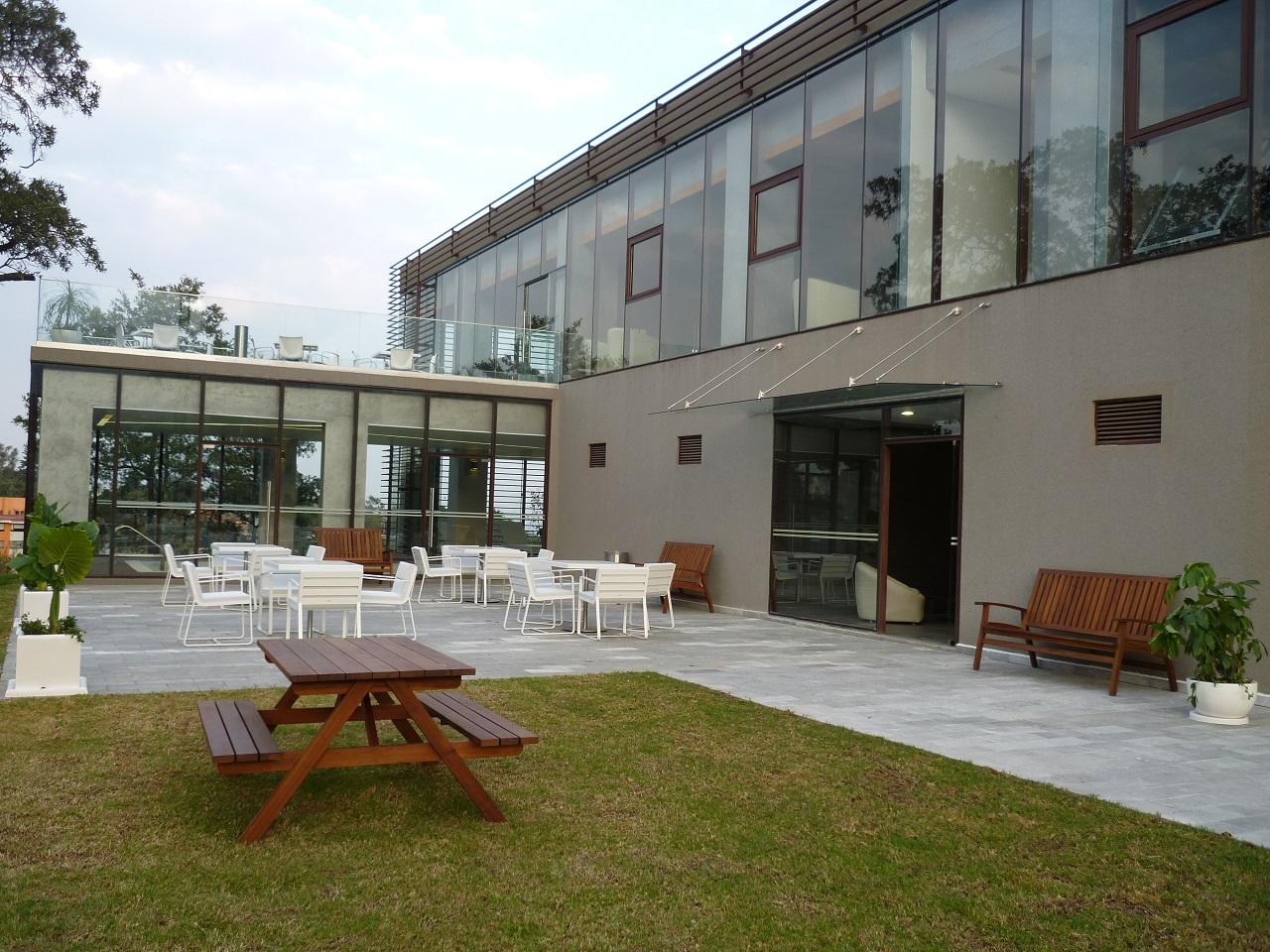 Amplias zonas verdes del desarrollo Abilia Citta San Jeronimo